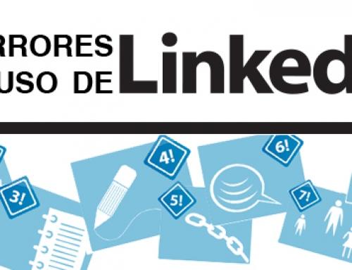 Diez errores a evitar en LinkedIn [Infografía]