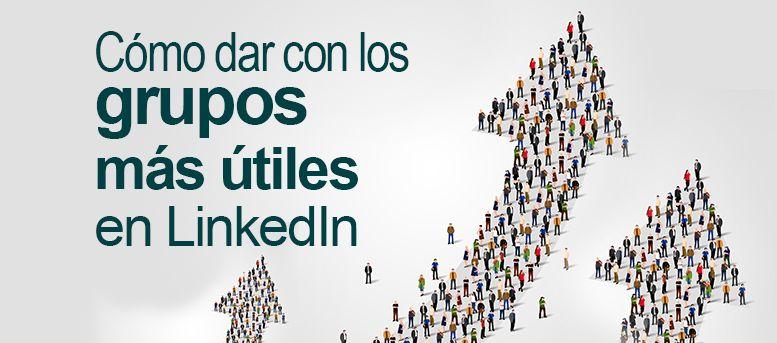 Cómo dar con grupos en LinkedIn