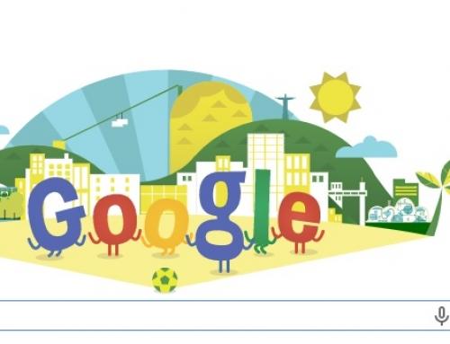 Google despierta hoy recordándonos el mundial 2014 con su nuevo doodle