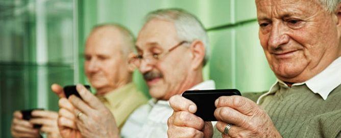 los mayores de 55 y los smartphones