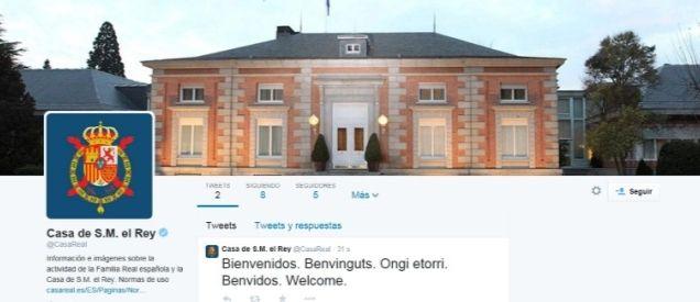 La Casa Real en Twitter