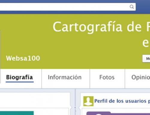 Cartografía de Facebook en España (infografía)
