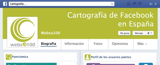 cartografia facebook