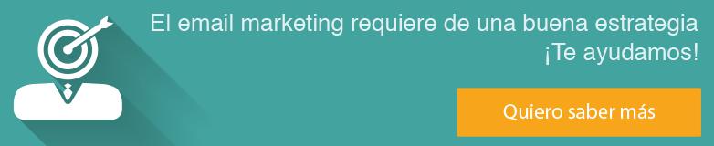 Ver servicio email marketing. Crea emailing vendedores.