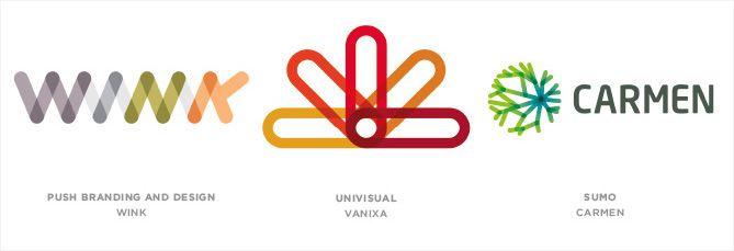 Tendencia en diseño de logotipos: Enlaces