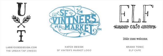 Tendencia en diseño de logotipos: Tipografías escritas a mano
