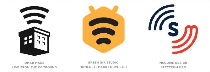 Tendencia en diseño de logotipos: Ondas