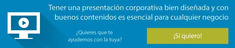 Ver servicio presentaciones corporativas