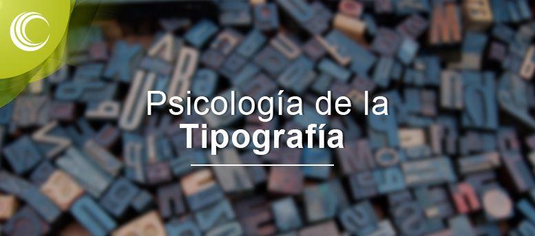 psicologia tipografia
