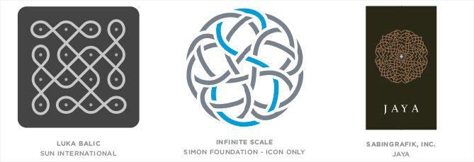 Tendencia en diseño de logotipos: Tejidos, unidos y entrelazados