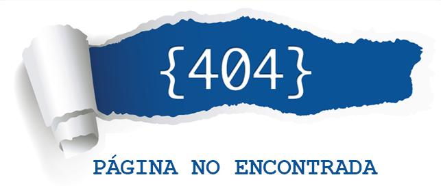 Cómo diseñar una buena página de error 404