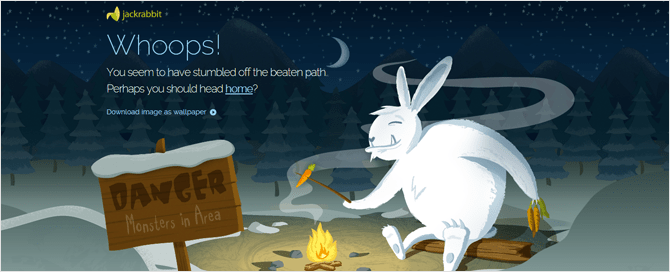 Páginas de error 404 con diseños creativos