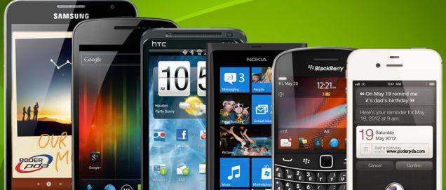 teléfonos inteligentes grandes