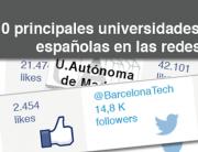 universidades en redes sociales