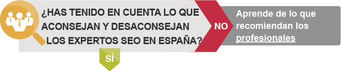 ¿Has tenido en cuenta lo que aconsejan y desaconsejan los expertos SEO en España?