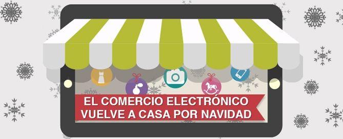 El comercio electrónico vuelve a casa por Navidad