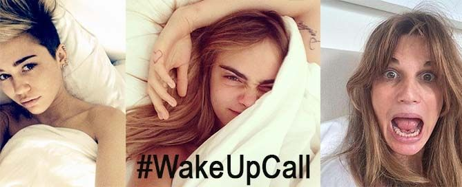morning selfie - wake up call