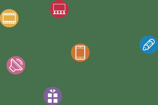 iconos marketing de contenidos