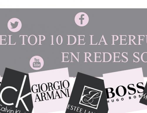 El top 10 de la perfumería en redes sociales