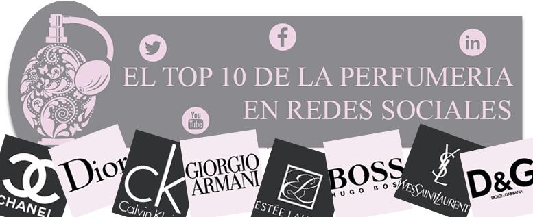 TOP 10 de perfumeria en redes sociales