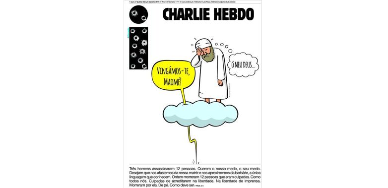 I-informação – Portugal # JeSuisCharlie
