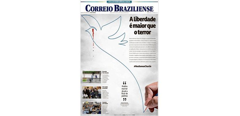 Correio Braziliense – Brasil # jesuischarlie