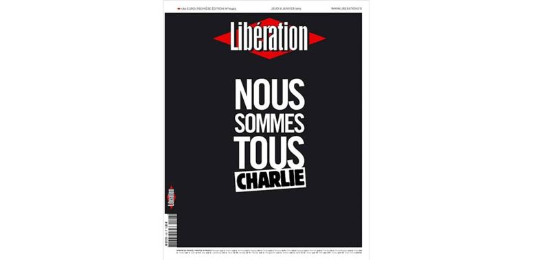 Libération – Francia # JeSuisCharlie
