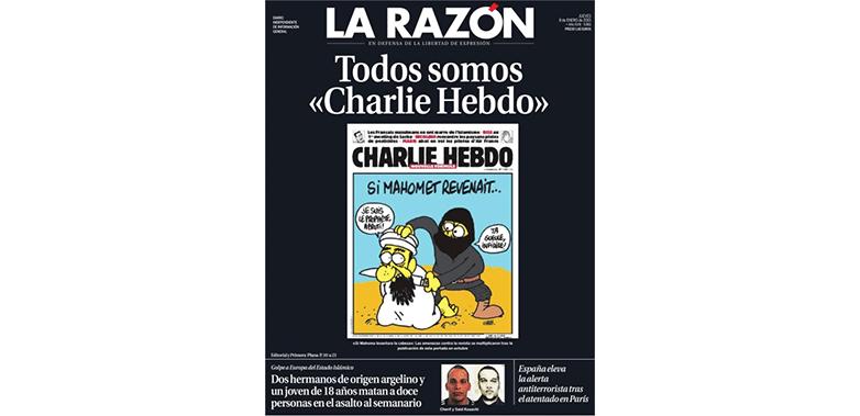 La Razón – España # JeSuisCharlie