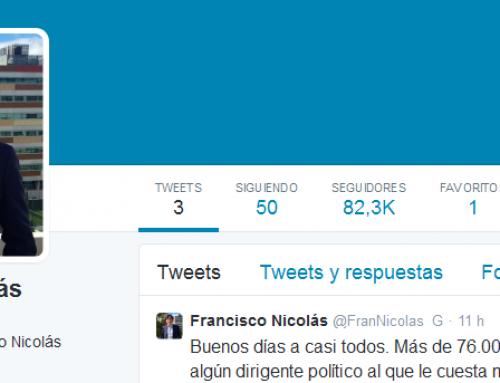 La gloriosa entrada en Twitter del Pequeño Nicolás