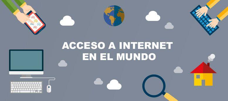 acceso a internet en el mundo