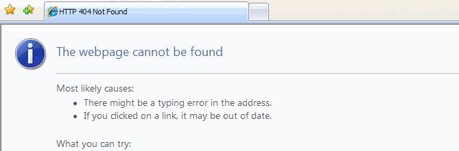 Error de usabilidad web