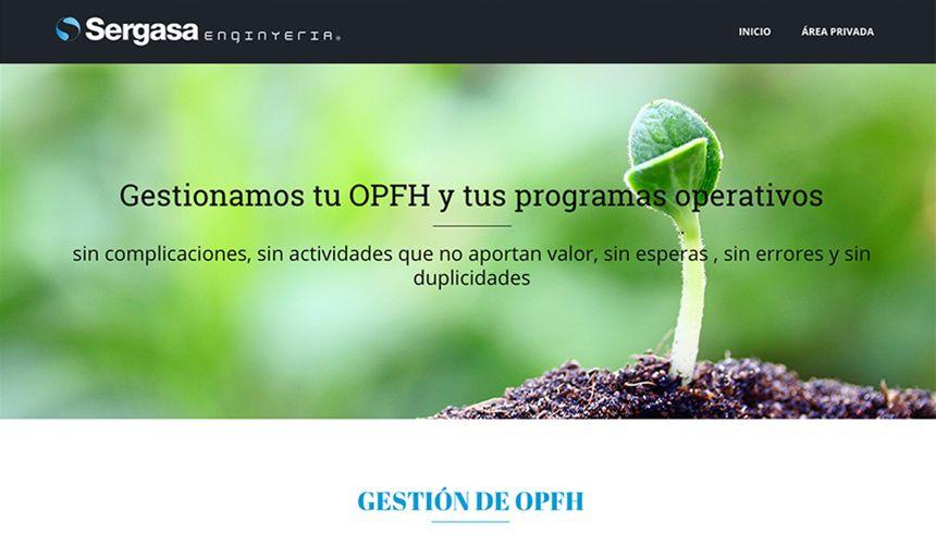 Página de inicio de OPFH