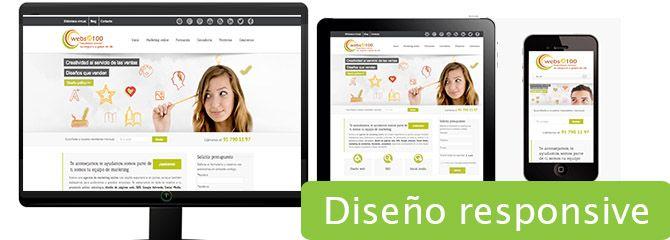 diseño web para móviles responsive