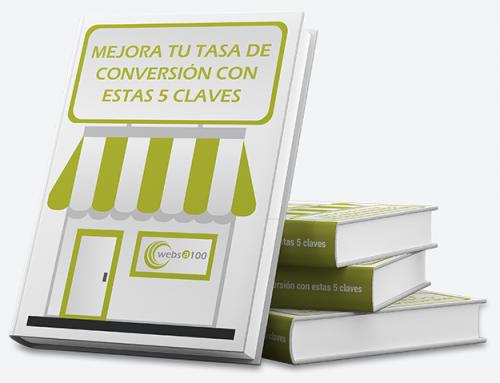 """Guía de ecommerce """"Mejora tu tasa de conversión con estas 5 claves"""""""