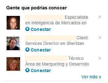 clientes en Linkedin: gente que podrías conocer