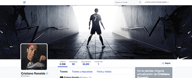 Marketing online y Cristiano Ronaldo
