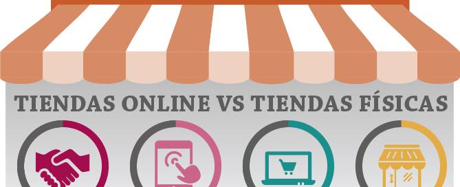 Tiendas online vs tiendas tradicionales, ahora y luego