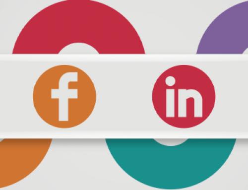 Las redes sociales para empresas paso a paso en una infografía