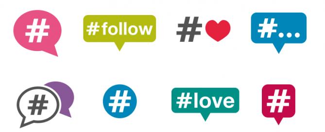 Hashtags: ¿cómo debo usarlos en cada red social?