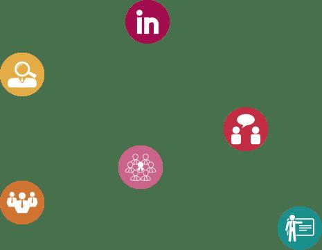 iconos linkedin para empresas