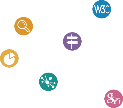 iconos posicionamiento web