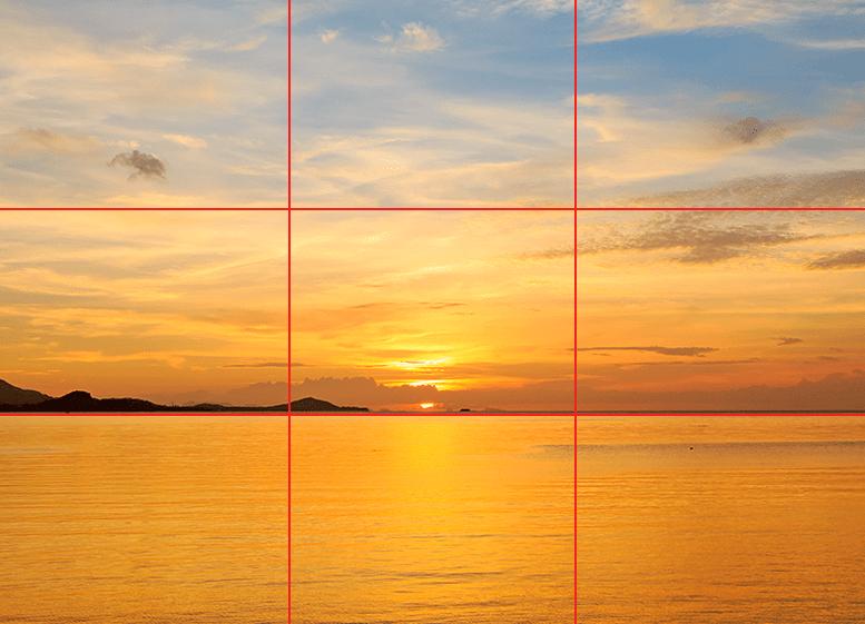 Ejemplo de la ley del horizonte
