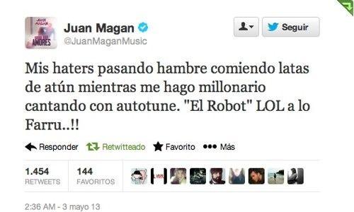 Tuit de Juan Magan