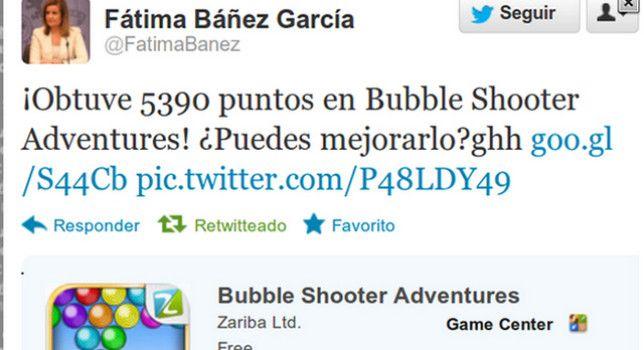 Tuit de Fátima Báñez
