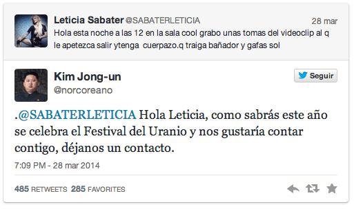 Tuit de Leticia Sabater
