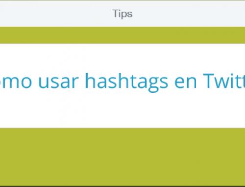 Infografía: Cómo usar hashtags en Twitter