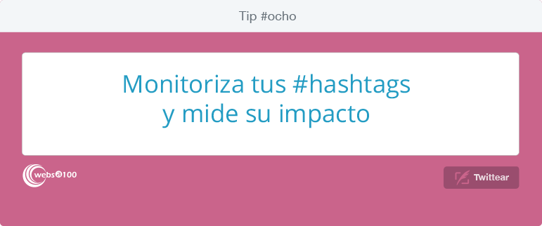 Monitoriza tus #hashtags y mide su impacto