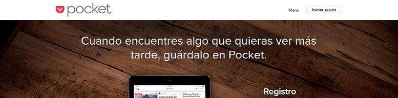 Herramientas para mejorar tu estrategia de marketing de contenidos: Pocket