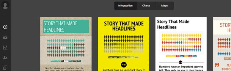 Herramientas para mejorar tu estrategia de marketing de contenidos: infogram