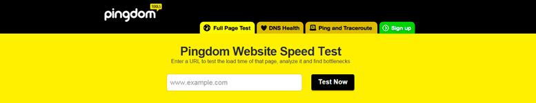 La página web Pingdom te permite ver todos los archivos de tu página web